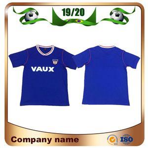 1990 jerseys versão de futebol Sunderland Retro 90/91 Michael Gray Eric Gates vintage clássico da camisa do futebol uniformes de futebol de manga curta