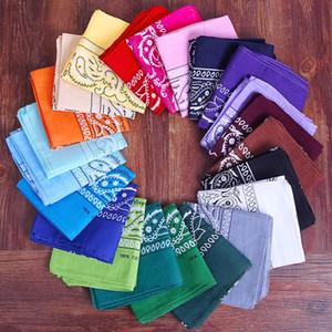 Hip Paisley Impreso venda de la manera Hop ciclo al aire libre del pañuelo cuadrado de la bufanda chica Chico Niño Niña 55 * 55cm FFA4164 3000pcs