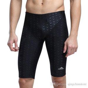 2019 Swimwear Men Competitive Swim Briefs Trunks Male Swimsuit Racing Jammers Sharkskin Swimming Board Shorts Plus Size 5xl