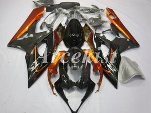 4 Gifts New ABS motorcycle Full Fairings Kits Fit For Suzuki GSX-R1000 K5 2005 2006 05 06 bodywork set custom Free black orange
