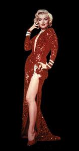Nouveau incroyable sexy célèbre robe rouge Sequin mode chaud V-cou pleine longueur sirène manches longues robes de soirée pas cher robe de bal