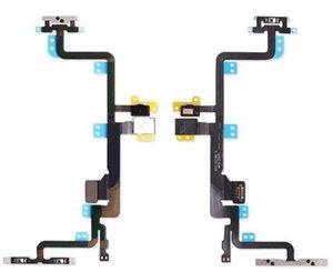 Для iPhone 5 5S 5C 6 6Plus 6S 6S Plus 7 7Plus 8 8Plus Выключатель питания и кнопка громкости Flex Cable Запасные части Бесплатная доставка