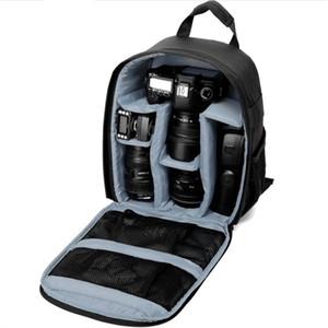 Vídeos de mochila de câmeras multifuncional Vídeos Digital DSLR Sacos Impermeáveis Câmera ao ar livre Saco de fotos para Nikon / para Canon / DSLR