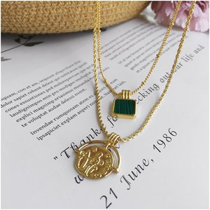 Copper 2020 New Fashion Bohemian Hot Double Necklace Fashion Jewelry Gif Luxury Designer Jewelry Women Necklace Free Shipping with Box