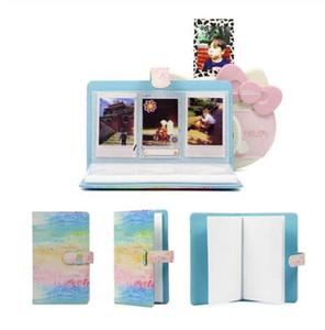 96 Cepler Instax Mini8 / 9 / 7'ler / 7C / 25/70/90 3 inç Mini Photo Album İçin PU Deri Anında Fotoğraf Albümü Resim Çantası