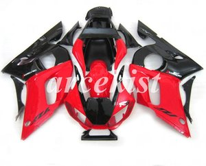 High quality (Injection molding) New ABS Motorcycle Full Fairing Kit Fit For Yamaha YZF R6 1998 1999 2000 2001 2002 custom Black Red