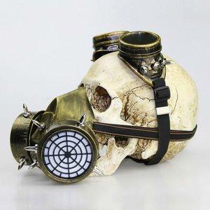 Gasmaske Maskerade für Männer Maske Halloween Props Masken Cosplay Schwarze Splitter-Schablone heißen Hallowmas Schablonen-Geschenke