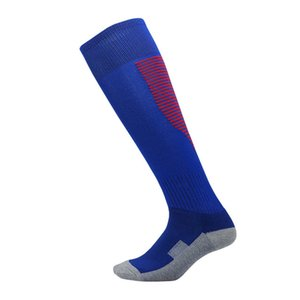 toallas medias inferiores hasta la rodilla deportivas transpirables calcetines de fútbol de la moda fútbol 2019 del diseño de los hombres calcetines de los niños para los niños niño