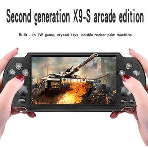X9 dreamwork jugador de la consola de juegos portátil para el Juego retro de la pantalla 5.1 pulgadas cámara Handheld del juego de atención al jugador para regalo de Navidad