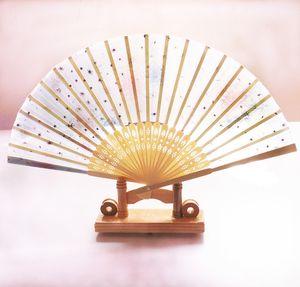 Çin Rüzgar Dans Fan Bayanlar Gazlı bez Hizmetçi Katlama Tek Paragraf Unisex Diğer Oyuncaklar Çok renkli Büyüklerin Bambu