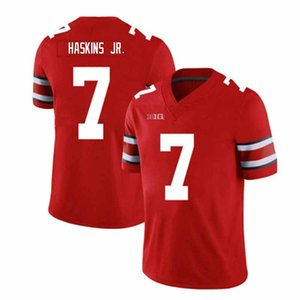 1263AA 7 Dwayne Haskins Jersey Jr 97 Nick Bosa 13 Tua Tagovailoa Trevor Lawrence de qualité supérieure American College Football Jersey 2019