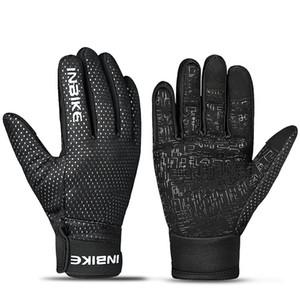 INBIKE inverno pieno Finger Gloves antivento Warm Uomo Donna Guanti da moto confortevole Guanti Ciclismo Guida Bike Sport
