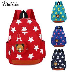 Winmax Factory Kids Cute Bear Schultaschen Mochila Infantil Kinder Kindergarten Fashion School Rucksäcke Bolsa Escolar Infantil Y190529
