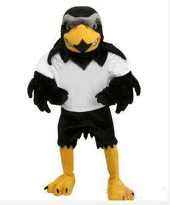 Nuevo Deluxe de lujo de la mascota del halcón del traje tamaño adulto águila Mascotte Mascota fiesta de carnaval Cosply traje traje de lujo traje Fit