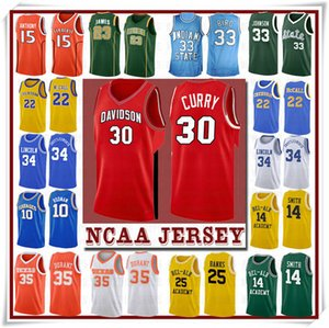 Jerseys del baloncesto NCCA Jersey Kawhi Leonard James Iverson Hombres 23 LeBron Durant 13 Harden Curry Stephen universidad Russell Westbrook Men19