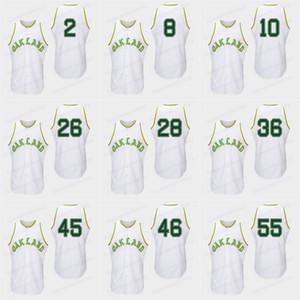 1968 Turn Back Baseball Jerseys Mens 33 Jose Canseco 25 Markmcgwire 9 Reggie Jackson 19 Campaneris 24 Rickey Hendersontop 품질