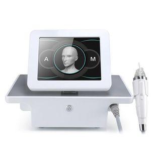 Tasarım 4 İpuçları Kesirli RF Microneedle Yüz Bakımı Mikro İğnelik Ekipmanları Akne Tedavisi Cilt Kaldırma Kırışıklık Temizleme Güzellik Makinesi Sıkın