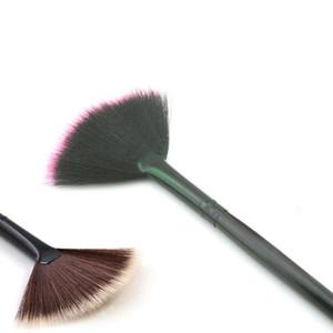 슬림 팬 모양의 메이크업 브러쉬 파우더 Concealer 여성 레이디 형광펜 전문 메이크업 브러쉬 화장품 메이크업 도구