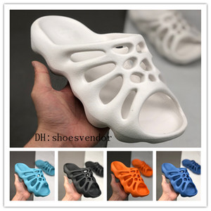 kanye 450 korean summer beach sandals lovers mens women designer sandals internet celebrity slippers heren sandals peep toes shoes flip-flop