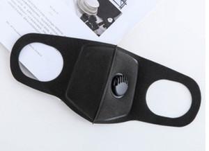 Máscara de contaminación Mascarilla anti-aire de grado militar y máscara de contaminación de humo con correas ajustables y una máscara de respirador lavable hecha