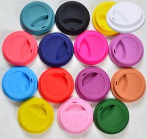 9см Силиконовые Кубок Крышка Anti-Dust чашка чая Крышка Кружка кофе Крышка Milk Tea Cups Cover Seal Люки A03