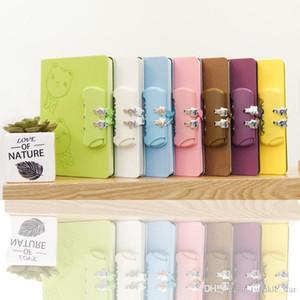 notebook segreto con spedizione gratuita blocco personalizzato di colore della caramella regalo notebook giornale del diario del blocchetto per appunti di viaggio all'ingrosso