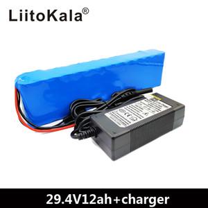 LiitoKala 7S4P 24V 12ah lithium batteryfor bicyclette moteur électrique ebike cropper en fauteuil roulant scooter avec BMS