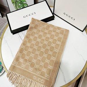 beliebter Luxus Schal echarpe Brief Frühling und Herbst MarkeDesigner-Schal Schal Männer und Frauen Kaschmir-Schal 180 * 70cm écharpe de