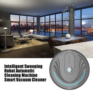 Robot de barrido inteligente Inicio automático de limpieza de la máquina inteligente Lazy Aspirador Barredoras de empuje Mopping automático Mini-Mano
