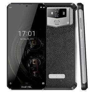 OUKITEL K12 6,3 '' Waterdrop 1080 * 2340 6 GB 64GB Android 9,0 smartphones cara ID 10000mAh 5V / 6A carga rápida OTG NFC Mobile Phone