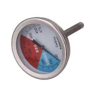 """2-2 """"475 RWB BBQ شواية الفحم المدخن الخشب فرن حفرة الحرارة مقياس الحرارة"""