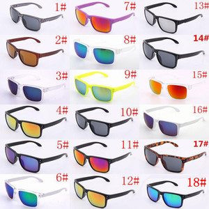 BRAND Occhiali da sole UV400 Protection 9102 Sport O Occhiali da sole Uomo Donna Unisex Occhiali da sole estivi Occhiali da sole per ciclismo Outdoor 18 colori