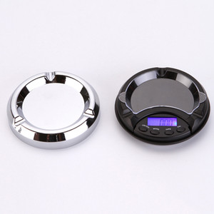 Mini Cendrier Pocket Scale Bijoux Portable 0.01g Échelle d'or Balance électronique
