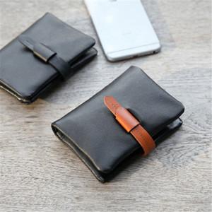 새로운 도매 최고 품질의 여러 가지 빛깔의 가죽 키 홀더 짧은 디자이너 6 개 주요 지갑 여성 클래식 지퍼 포켓 남자 열쇠 고리를 디자인