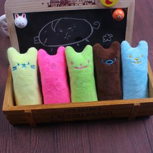 Pet Plush Toys Catnip Pequeno Polegar brinquedos com som Paper Puzzles mordida brinquedos Molar Cat Mint