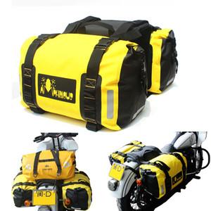 60L 방수 오토바이 안장 가방 키트 기사 라이더 다기능 휴대용 가방 수하물 범용 테일 가방 모토 가방 수하물