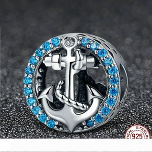925 Sterling Silver Brave Maritime Travel Tour Dream Charms Anchor Beads fit Original Bracelets DIY Jewelry