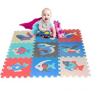 9 pc regolati numeri colorati Alfabeto attrezzo di sicurezza Ingranaggio EVA Pavimenti Gioca Mat bambino Playmats Baby Room Schiuma tappetini puzzle di attività