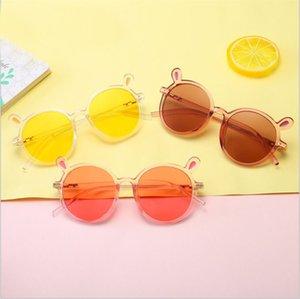 2020 Baby Accessories Bear Ears Kids Sunglasses Retro Summer Kid Toddler Sunglasses Metal Frame UV400 Protection