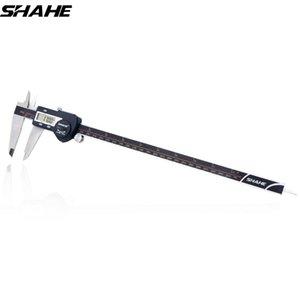 Shahe Precision Electronic Digital Caliper 300 millimetri elettronico digitale pinza in acciaio Vernier Caliper Paquimetro Digital T200602