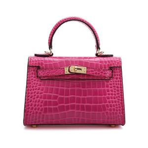 Amazing2019 Original Home H Leder Frau Kylie Kuhfell Handtasche einzelne Schulter-Span-Paket Freizeit-Paket Mini-