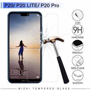 Glas für ursprüngliches Huawei P20 Lite Glass P20 Plus Pro Ausgeglichenes Glas-Schirm-Schutz-Schutzfolie 9H 2.5D Schutz Protect Premium