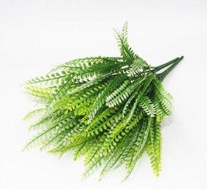 Simulare il materiale di impianto a parete verde Piantare parete pianta di plastica Erba Fiore montaggio dei componenti Fengweicao sacco W1201 20pcs /