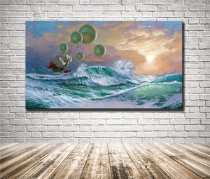 Michael Cheval ,Flying Dutchman,HD Canvas Printing New Home Decoration Art Painting (Unframed Framed)