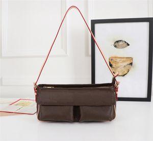 De alta calidad de la moda de lujo diseñador bolsos monederos Pequeño Malle Michael Bolsa clásico del estilo de mujer de marca bolsos de hombro del cuero auténtico