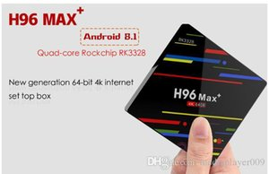 H96 MAX Plus TV Box Android 9.0 4GB ram 32G 64GB Rockchip RK3328 H.265 4K Youtube