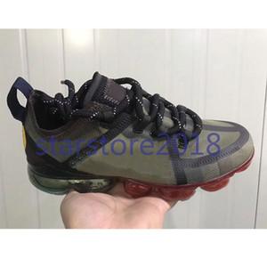 Nike Vapormax CPFM CACTUS BİTKİ FLEA PAZAR erkek koşu ayakkabı en kaliteli gülümseme yüz marka siyah kutu ile erkek spor ayakkabı moda spor sneakers