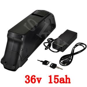 EUA UE Nenhum Imposto 36 v 15AH uso pacote de bateria panasonic ICR NCR18650PF 36 células Bicicleta Elétrica Da bateria v bateria li-ion + c