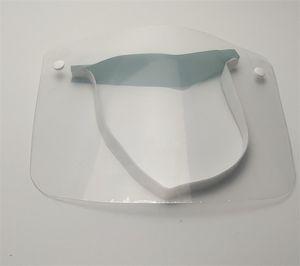 Borrar la cara llena máscara facial protectora Máscara contra las gotitas respiratorias Máscaras Transparente adultas cortavientos de Hogares de Protección En Stock 2 5TY UU