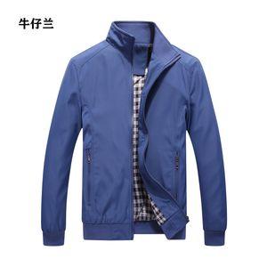 2020 New Fashion Comfortable Zipper Men's Jacket +business Round Neck Or V Neck Men's Jacket Casual Large Size Loose Coat
